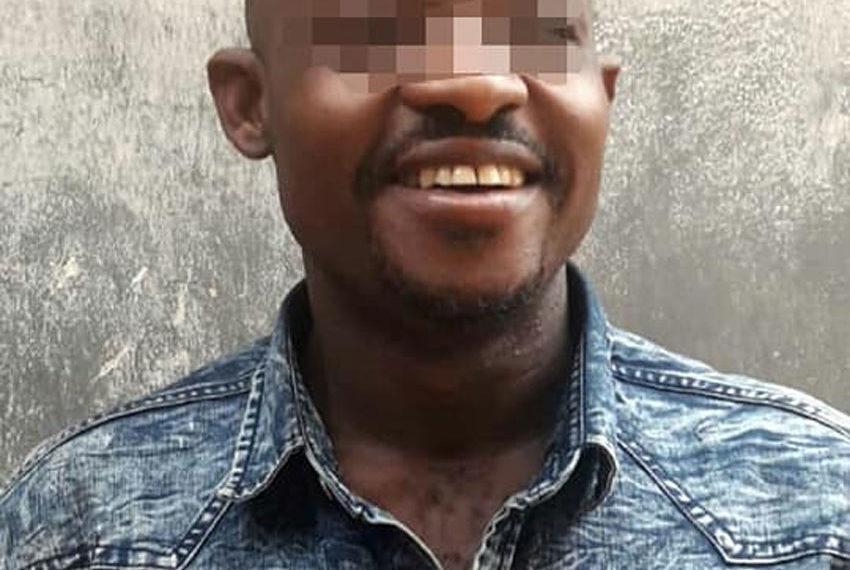 Arrested suspect