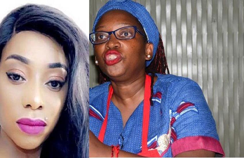 Bad Black and Dr Stella Nyanzi