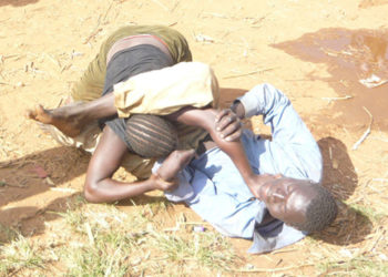 Domestic violence in Uganda.. Courtesy photo