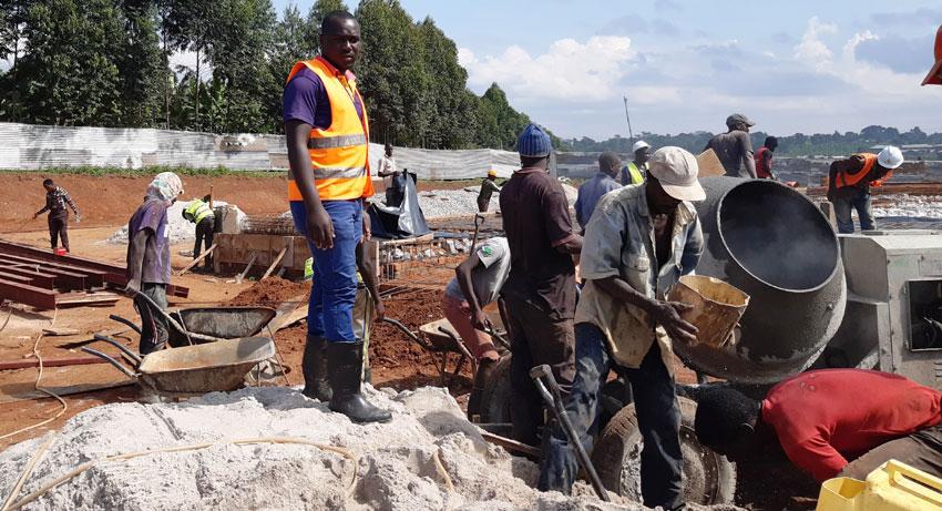 At 29, Bwanika is a successful civil engineer in Masaka