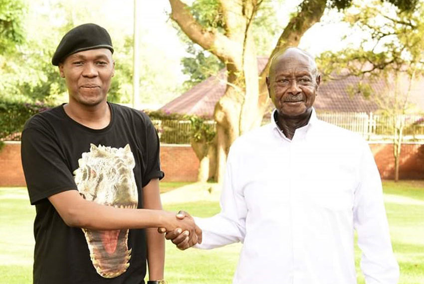 Big Eye with President Museveni early this year