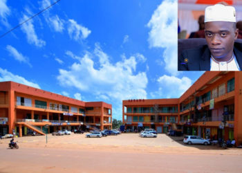 Segawa Market owned by businessman Haruna Sentongo