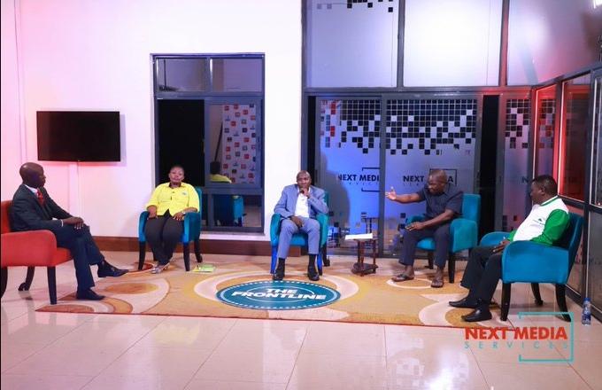 Sabiti hosting #Frontline show on NBS TV Thursday evening