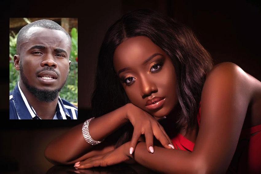 Singer Lydia Jazmine and MC Ibrah