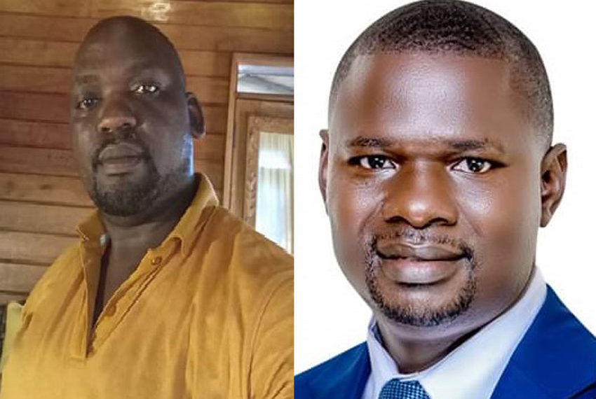 Dr Lusala Batuwa Timothy and Paul Kawanguzi