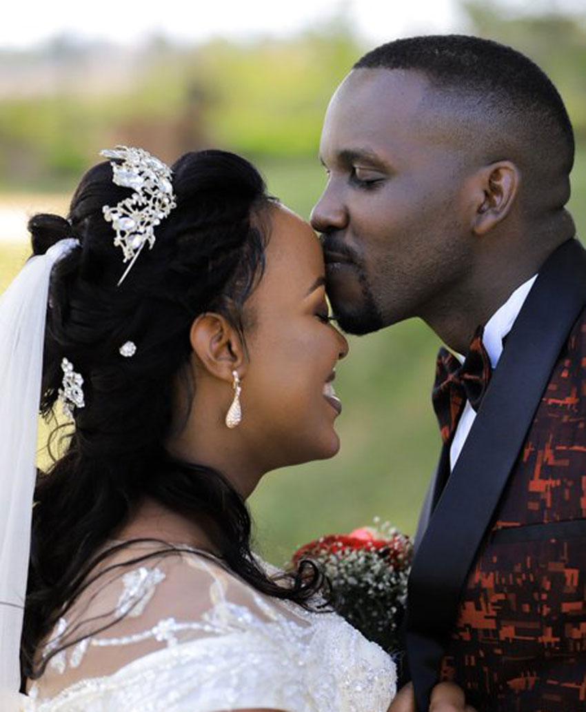 Joel Ssenyonyi with his wife