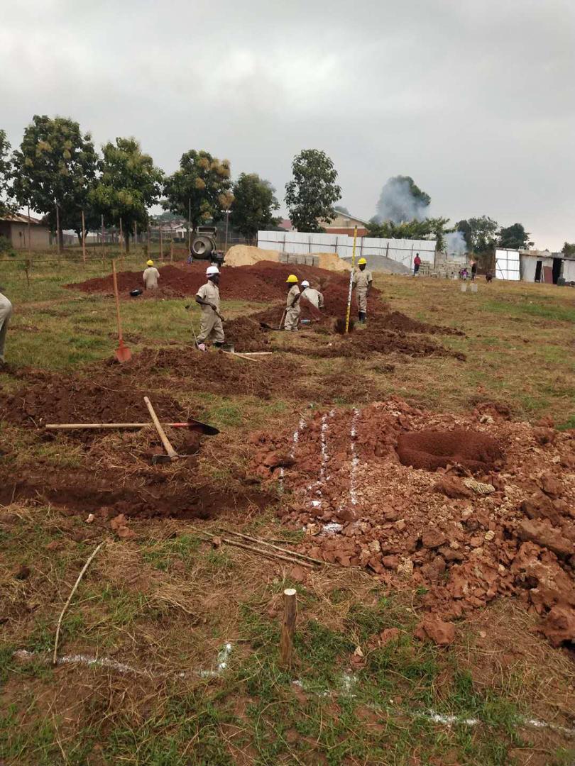 Videos: Kabaka's Mirembe Villas Sentema takes shape