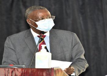 Justice Minister Prof Ephraim Kamuntu