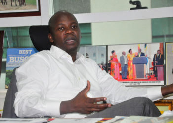 Minister Godfrey Kiwanda Suubi