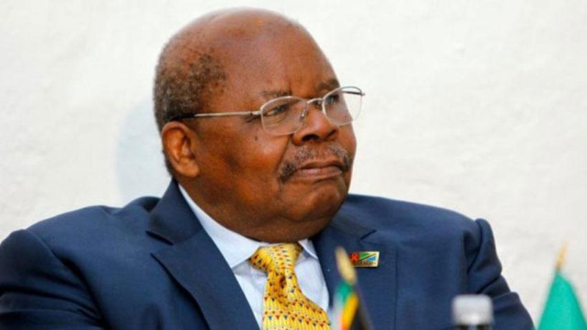 Former Tanzania President Benjamin Mkapa