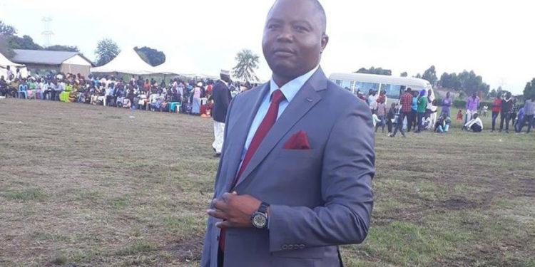 Bundibugyo district Chairperson Ronald Mutegeki