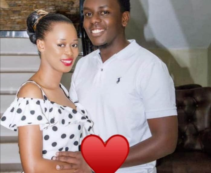Sylvia and Hubby Muhumuza