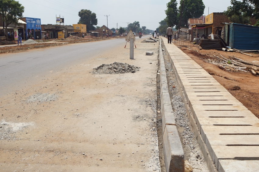 This is Nakalama-Tirinyi-Mbale road