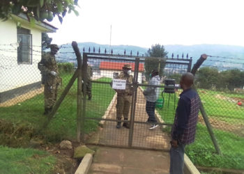 UPDF soldiers deployed at Kabale Hospital isolation centre