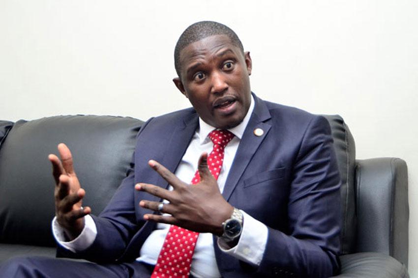 Jinja West MP Moses Balyeku