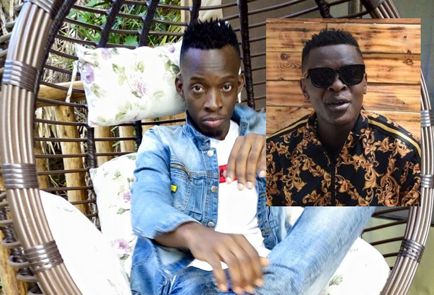 Producer Diggy Baur and Jose Chameleone