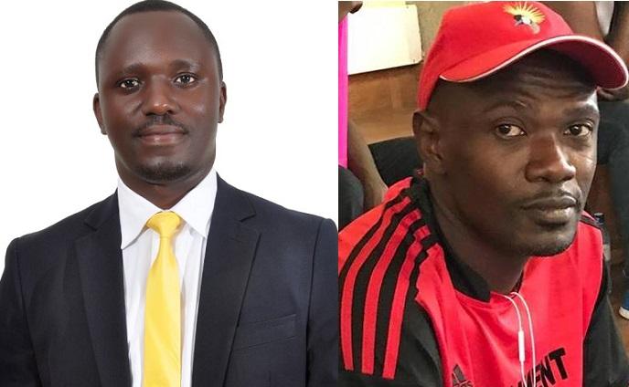 Luke Kisubi Mbigiti (Left) and  Andrew Kiiza Kaluya
