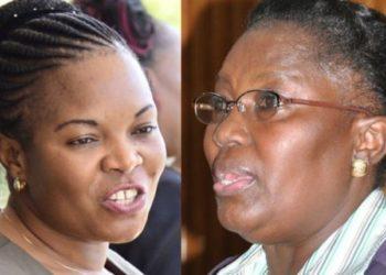 Minister Namuganza and Speaker Rebecca Kadaga