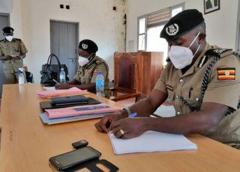 Kkooti ya Poliisi bwe yali etudde e Masaka gye buvuddeko