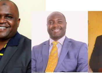 Haji Haruna Semakula ku kkono, Jonathan Mawanda wakati ne Andrew Senyonga Sentebe wa Mukono aliko kati