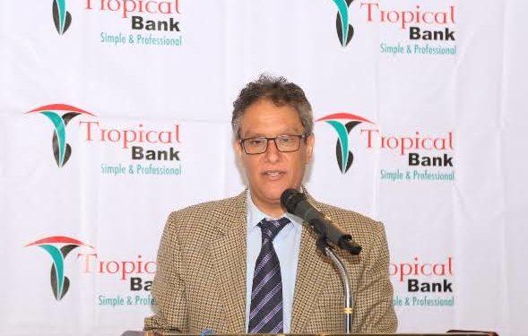 bdulaziz M.A. Mansur, the Tropical Bank Managing Director