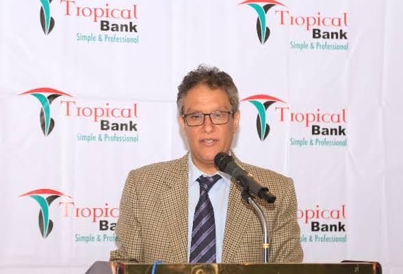 bdulaziz M.A. Mansur, the Tropical Bank Managing Director