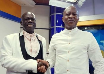 Basajjamivule and Frank Gashumba