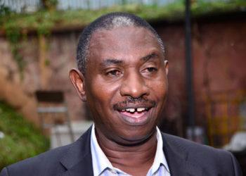 Bufumbira County South MP Sam Bitangaro