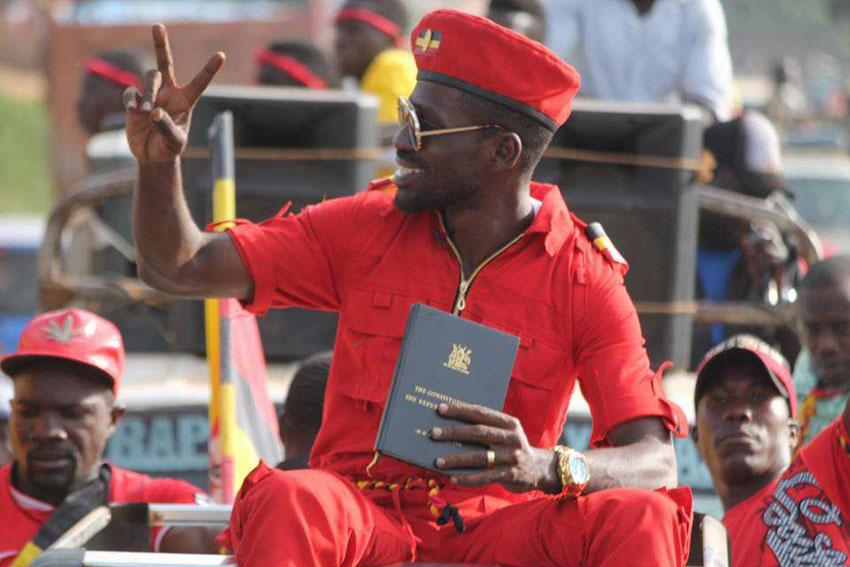 People Power movement leader Bobi Wine