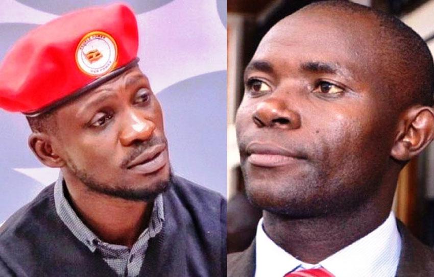 Bobi Wine and Male Mabirizi