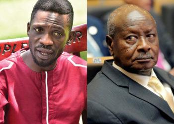 Bobi Wine and President Museveni