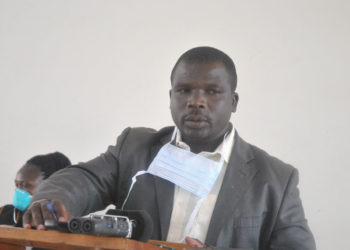 Alfred Besigensi, the acting Kabale District Health Officer