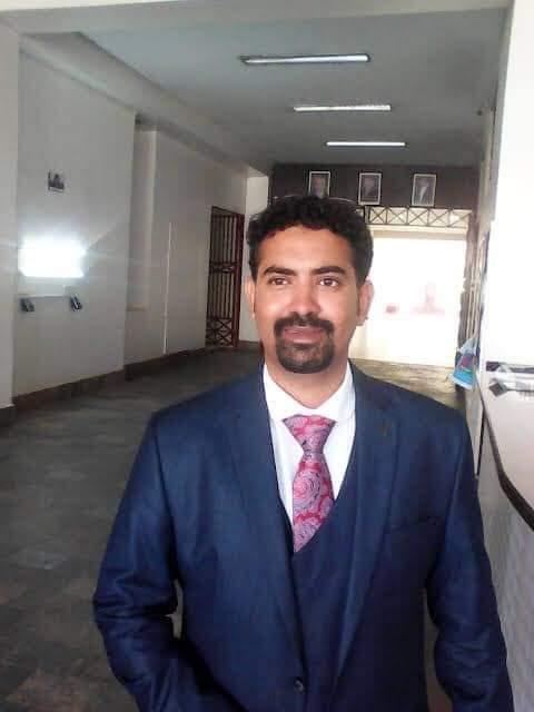 Alwi, director of IUEA university in Kansanga