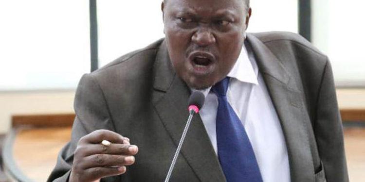 EALA MP Mathias Kasamba