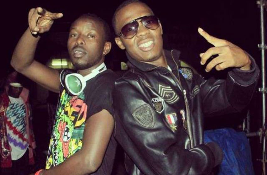 Eddy Kenzo and Big Eye