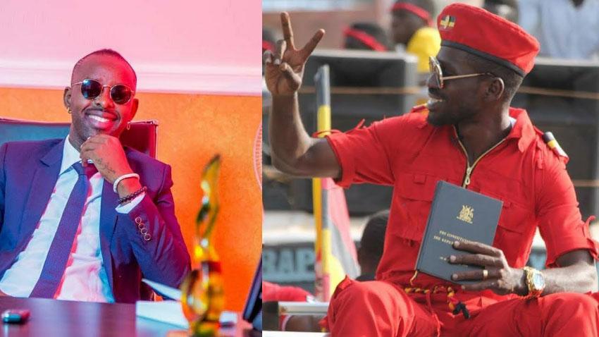 Eddy Kenzo and Bobi Wine