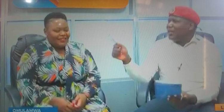 Catherine Kusasira and Bajjo on Baba TV