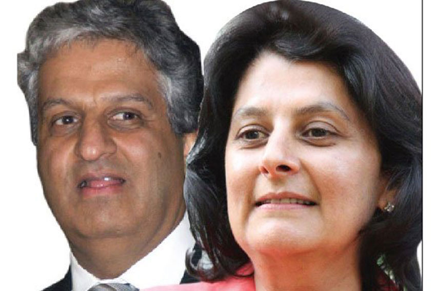 Nitin Madhvani (left), and his sister Nimisha Madhvani.