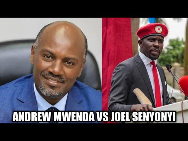 Andrew Mwenda and Bobi Wine