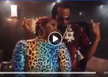 Winnie Nwagi and Navio dancing