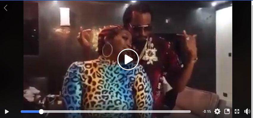 Winnie Nwagi and Navio dancing