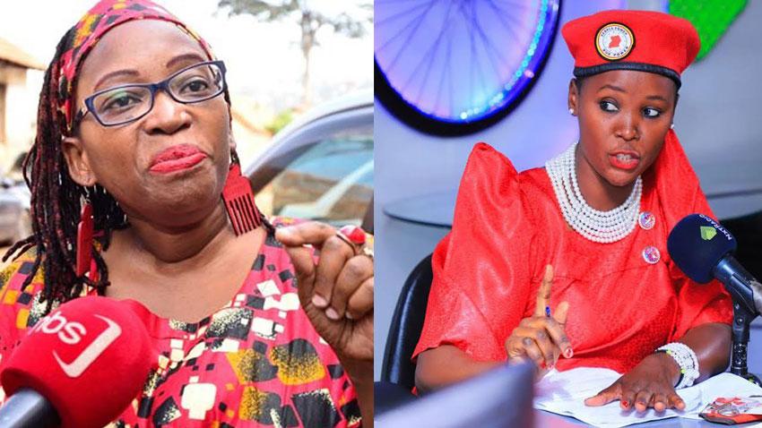 Stella Nyanzi and Shamim Malende