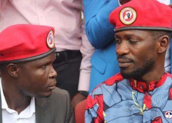 Ronald Mayinja and Bobi Wine