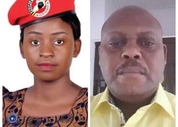 Sharon Taliyiwula and Minister Isaac Musumba