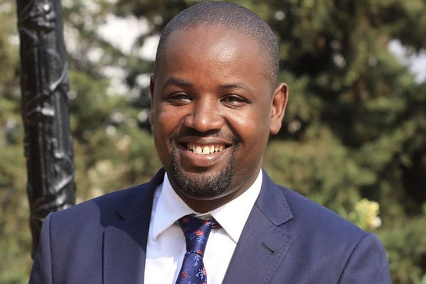 Government Chief Whip/Ruhinda North MP Thomas Tayebwa