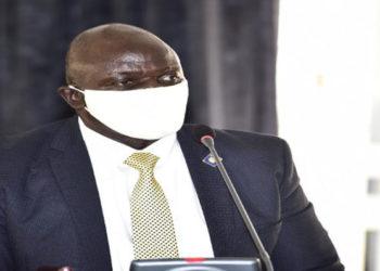Works and Transport Minister Gen Katumba Wamala