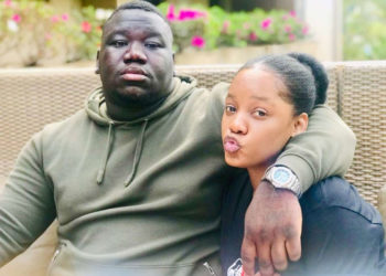 Media personality Zahara Toto with her now ex-lover Don Solomon