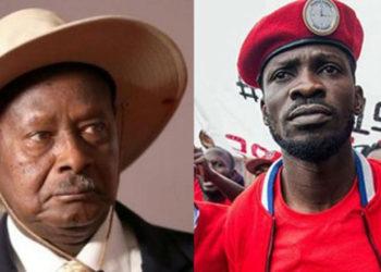 President Museveni and Bobi Wine