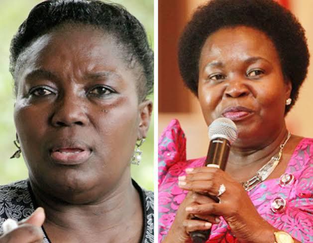 Speaker Kadaga and Government Chief Whip Ruth Nankabirwa