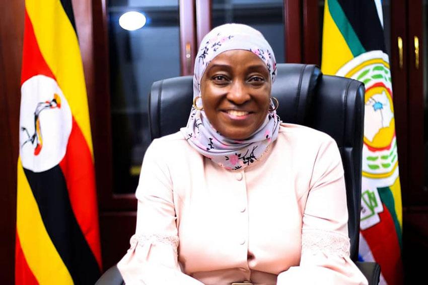 Minister Sarah Kanyike